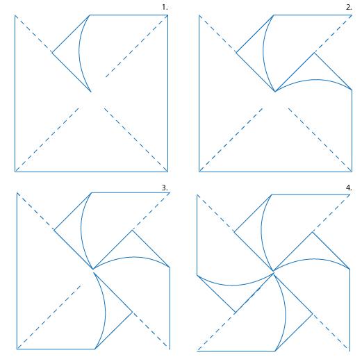 Early Play Templates Make A Pinwheel Printables And Tutorials