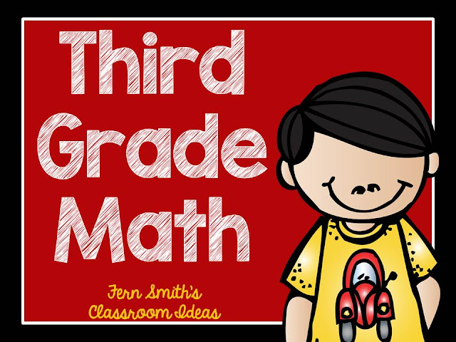 Fern Smith's Classroom Ideas Third Grade Math - Unit Two - Task Cards Bundle at TeacherspayTeachers.