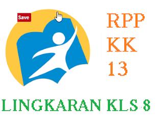 RPP lingkaran kelas 8 kurikulum 2013