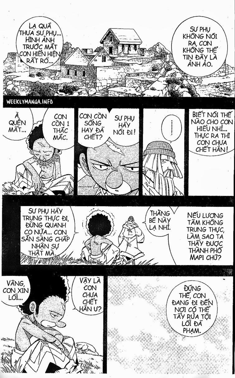 Shaman King [Vua pháp thuật] chap 204 trang 18