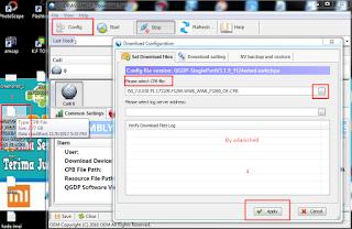 Cara Flash Evercoss M50 Bootloop Via QGDP