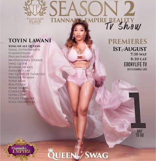 Serial entrepreneur Toyin Lawani set for second season of Tiannahsempirerealitytvshow