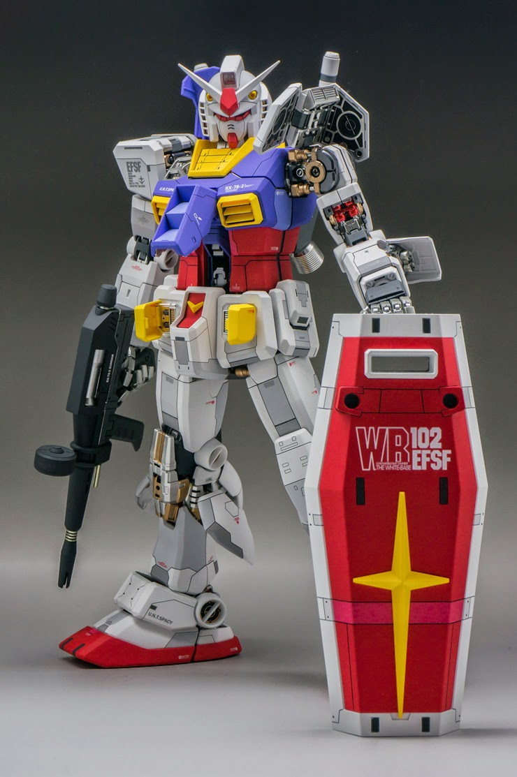 78 Best Images About Ulzzang On Pinterest: GUNDAM GUY: PG 1/60 RX-78-2 Gundam