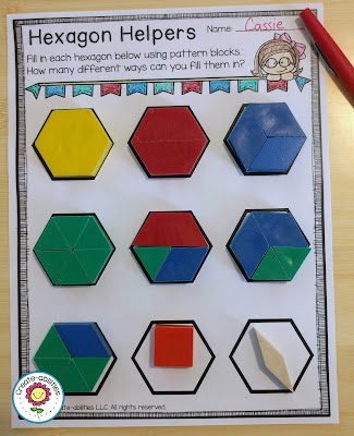 Hexagon Fractions