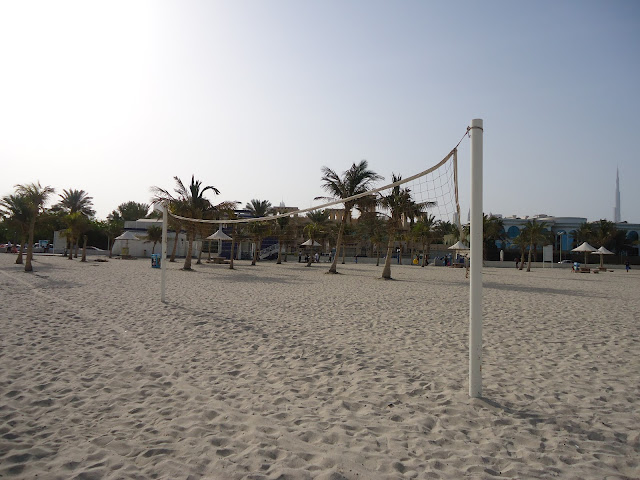 Amenities at jumeirah Open Beach