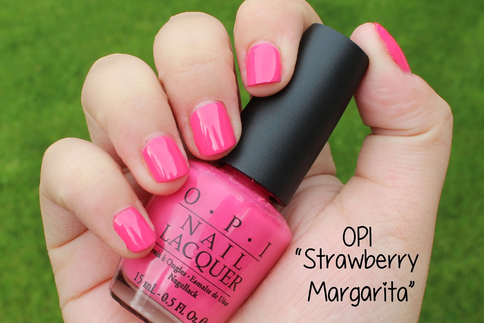 Viva La Fashion I Beauty Life Style Blog Opi Strawberry Margarita Swatch Review