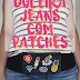 {DIY} Doleira Jeans com patches