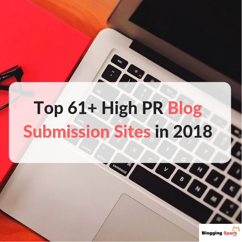 high pr blog submission directories