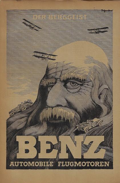 Der Berggeist - BENZ - Automobile Flugmotoren (1917)