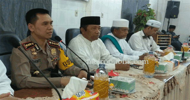 Kapolrestabes Medan Silaturahmi Ke MUI Kota Medan
