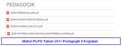 Contoh Materi Modul PLPG 2017