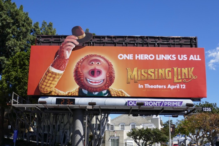 Missing Link motorised moving arm billboard