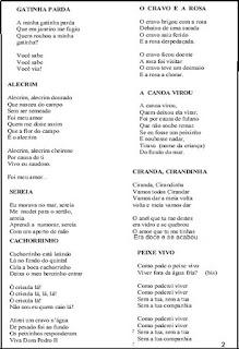Cantiga de roda músicas infantis