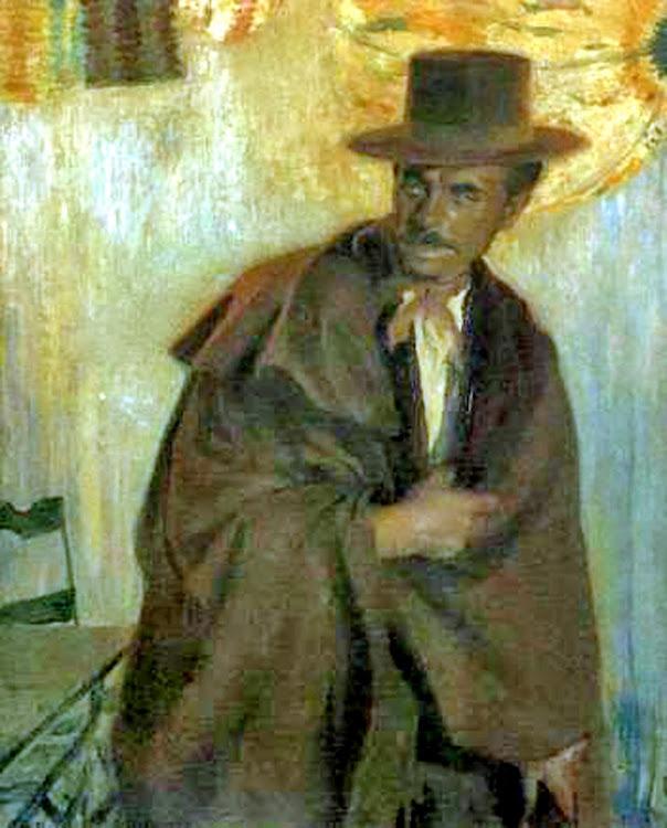 Noche oscura, Francisco Pons Arnau, Pintor español, Pintor Valenciano, Pintura Valenciana, Impresionismo Valenciano, Pintor Pons Arnau, Retratos de Pons Arnau