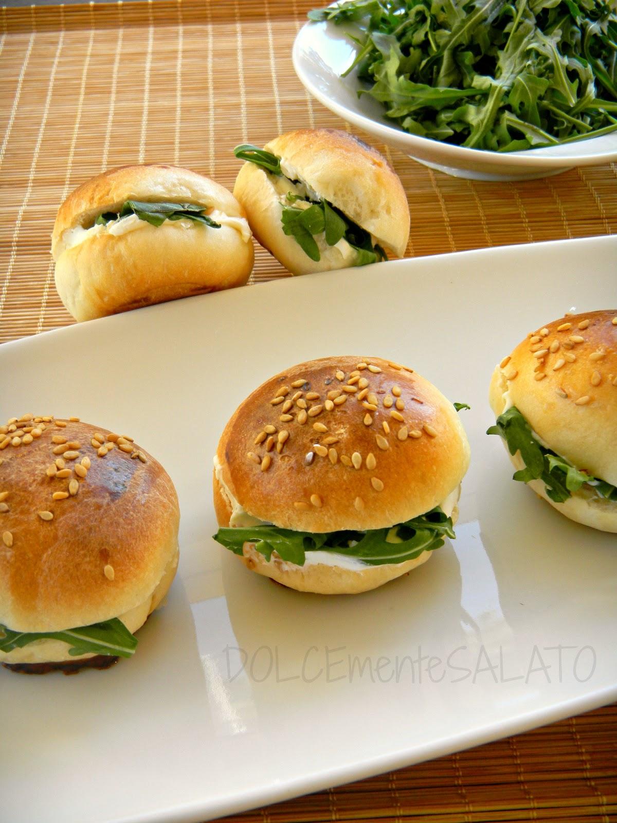 Popolare DOLCEmente SALATO: Mini panini e cornettini da buffet UQ41