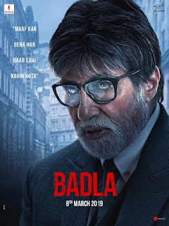 Badla First Look Poster 2