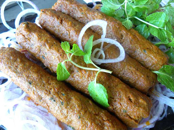 Food Recipes Kashmiri Seekh Kebab