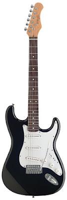 Đàn Guitar Điện Stagg S250BK