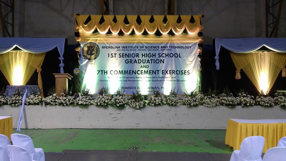 School Graduation Backdrop Ideas