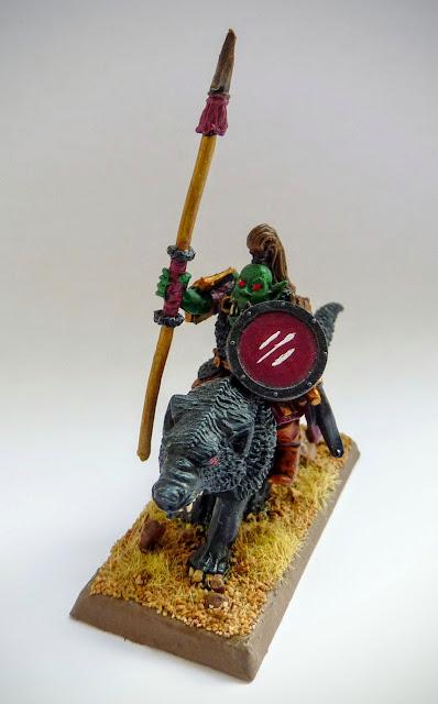 Oglah Khan's Hobgoblin Wolf Boyz for Orcs & Goblins, Warhammer Fantasy Battle