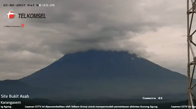 The Latest Update Of The Volcano Eruption In Bali Looks Calm Bali