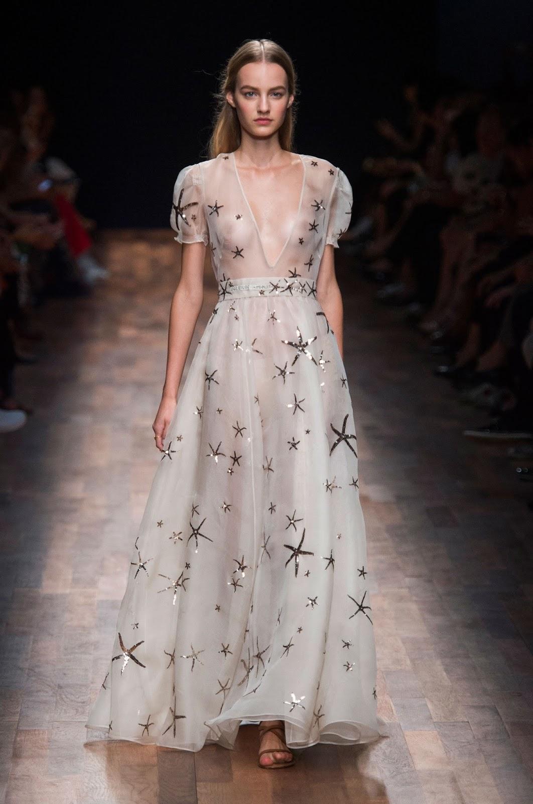 Valentino Spring 2016 Couture: Visual Optimism; Fashion