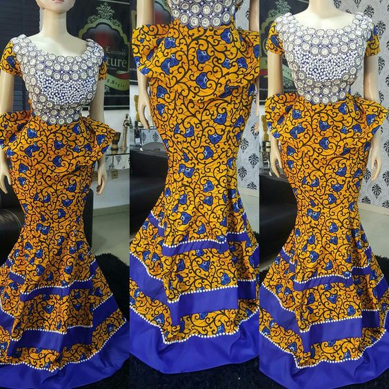 Image result for Ankara skirts and blouse designs
