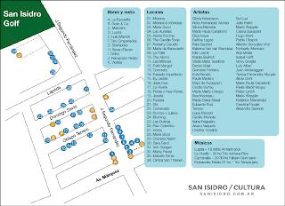Plano de Vidriera al Arte en San Isidro