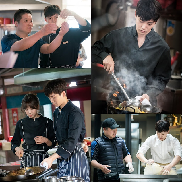 chef Kim Jung Rae and Junho Wok of Love