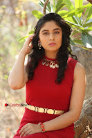 Telugu Actress Zahida Sam Latest Pos in Red Gown at RF Films New Movie Opening  0280.JPG