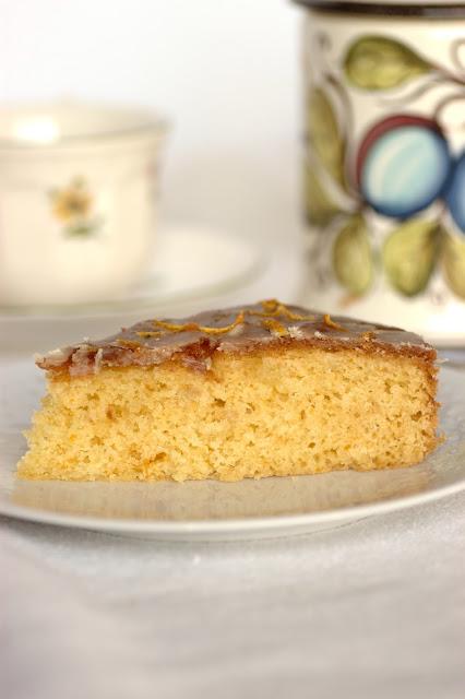 torta a ll'arancia