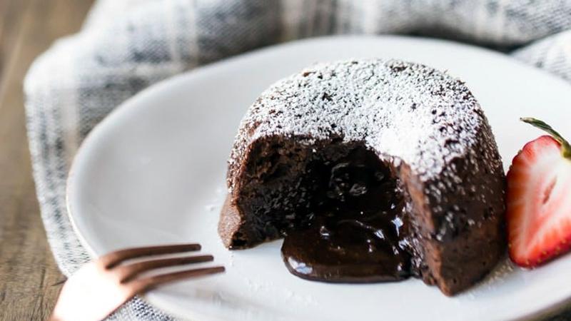 Molten Choco Lava Cakes