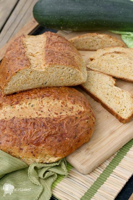 Zucchini Cheddar Bread