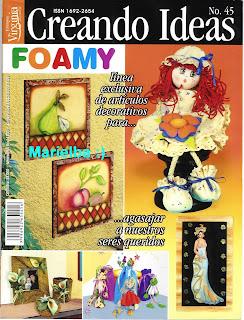 Creando Ideas Nro. 45 Foamy