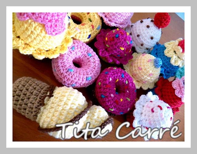 Doçuras em crochet da Tita Carré