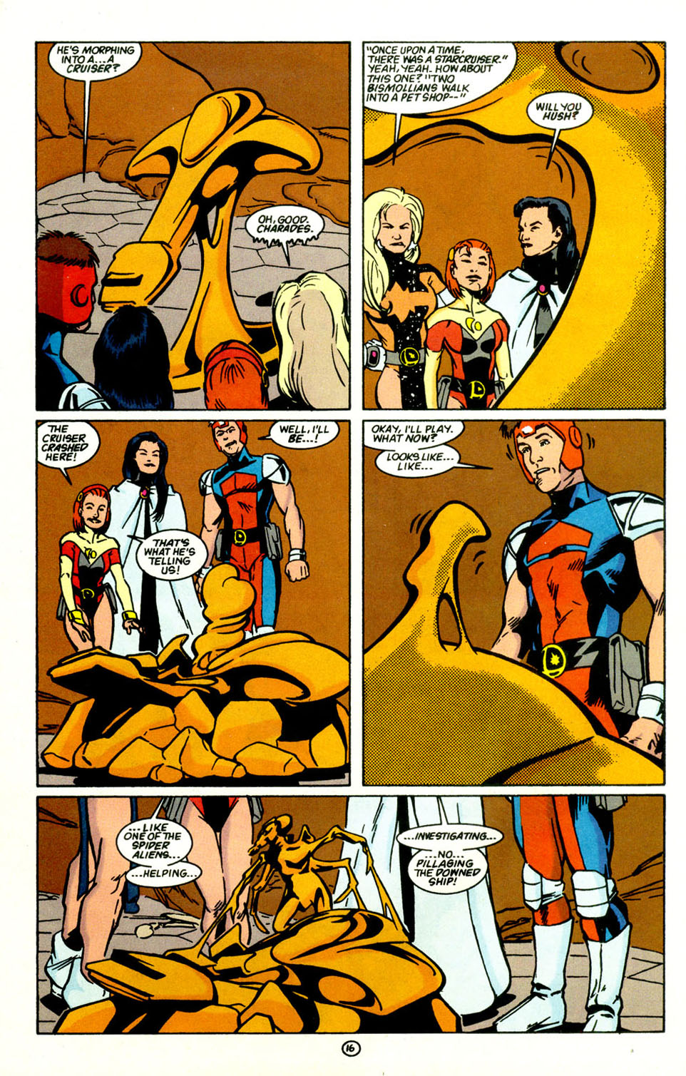 Legion of Super-Heroes (1989) 68 Page 17