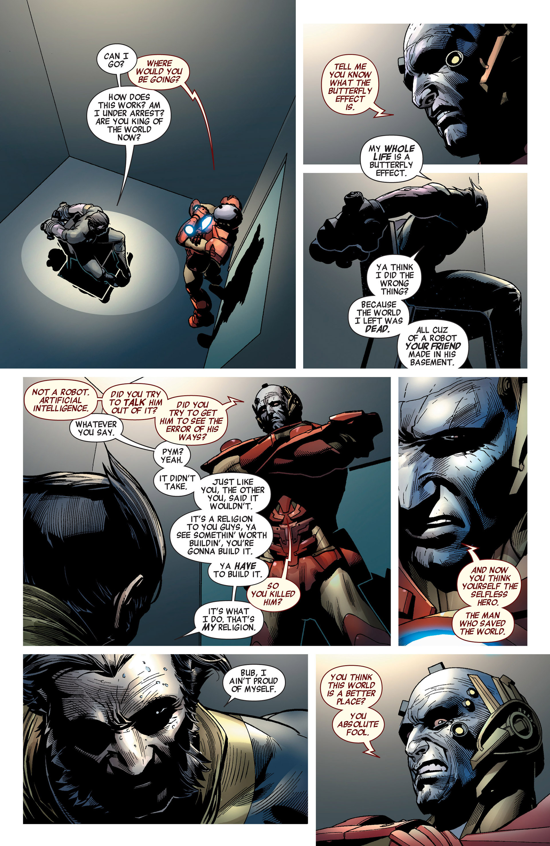 Read online Age of Ultron comic -  Issue #8 - 8