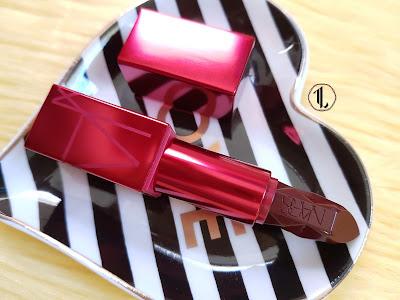 NARS Audacious Lipstick Holiday 2018 Sephora Exclusive - www.modenmakeup.com