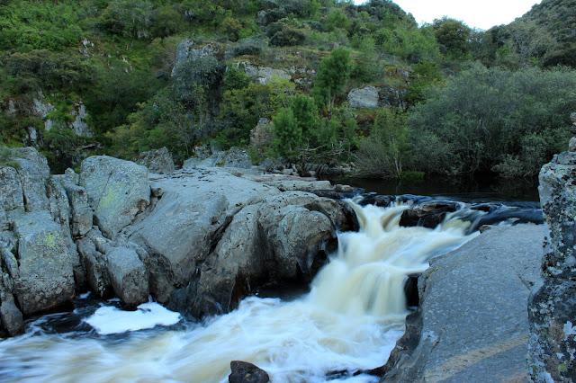 Río Uces en el Pozo de los Humos