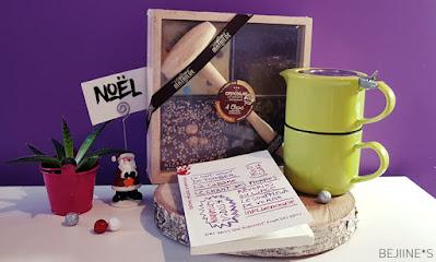 Cadeaux Noël - lot Spécial Thé Lecture