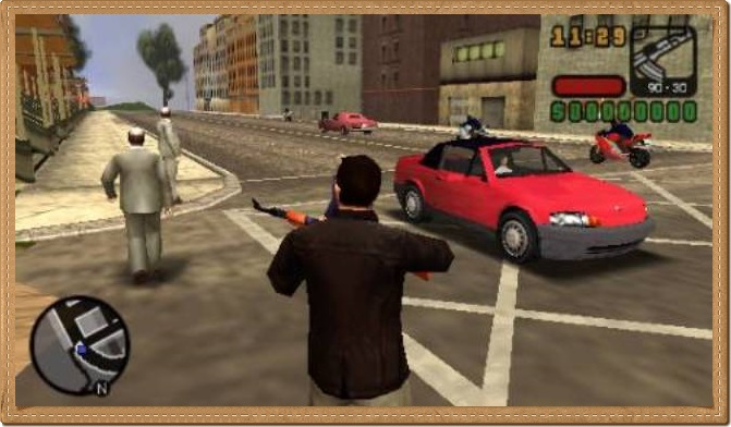 GTA Liberty City Stories PC Games Gameplay