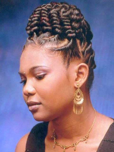 Magnificent Natural Braided Hairstyles For Black Women 2014 2015 Hairstyles For Men Maxibearus