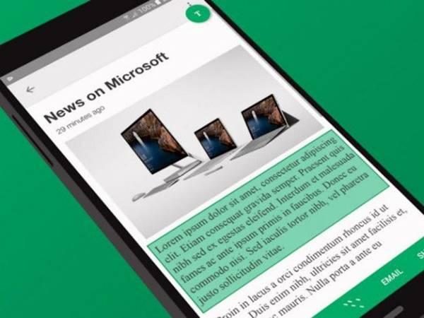 App da Microsoft facilita sua vida para copiar e colar texto no Android