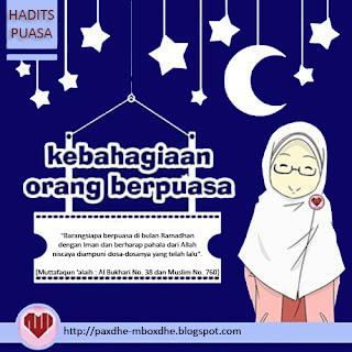 hadits keutamaan bulan ramadhan