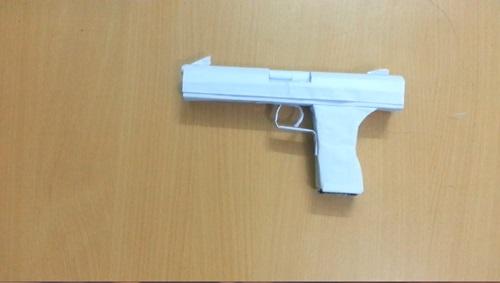 làm súng lục Px4 storm bằng giấy