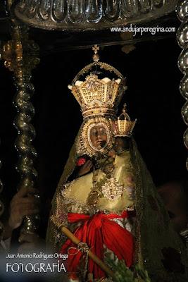 Morenita procesión de la Aparición