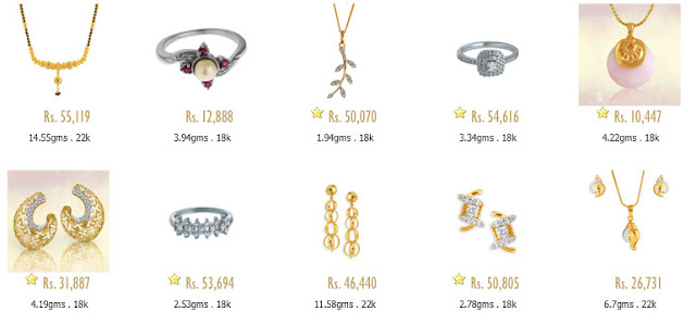 Tanishq Gold Jewellery Price List