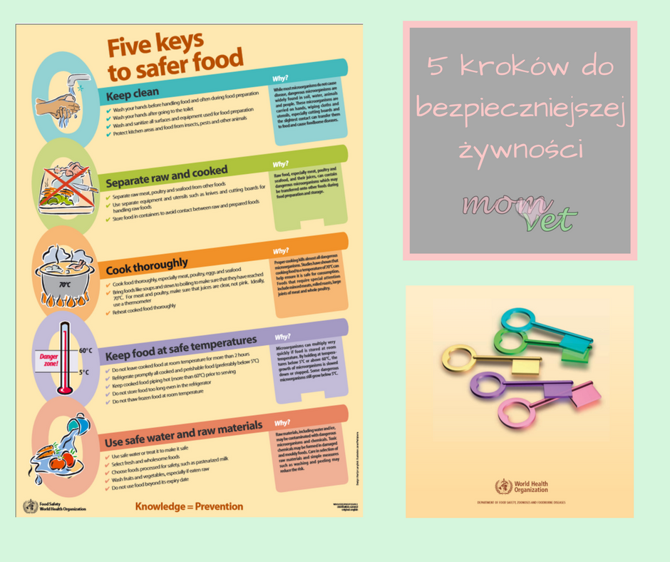 5 kroków do bezpieczniejszej żywności