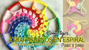 Atrapasueños Multicolor en Espiral / Paso a paso