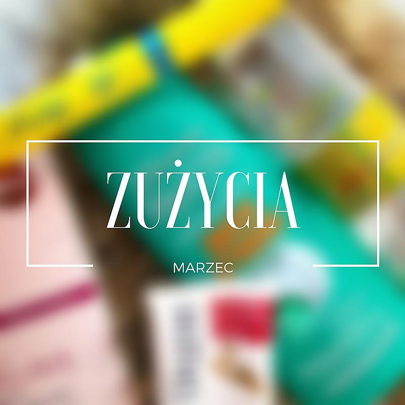 Zużycia marca - sporo kolorówki!